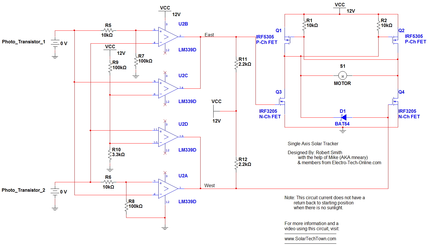 Solar Cell Circuits Sensors And Detectors Electronics Tutorial Panel Diagram Tracker